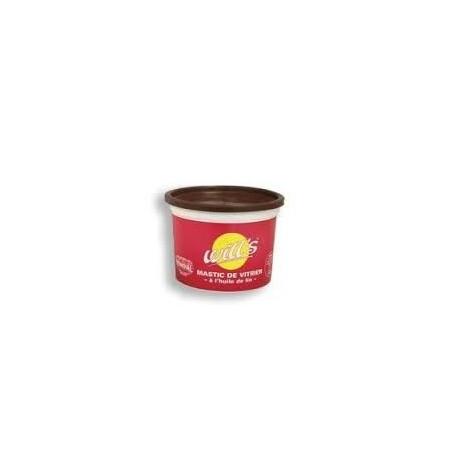 mastic à l'huile de lin en 25 KG