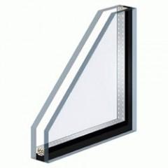 Double vitrage avec 2 faces de 6 mm