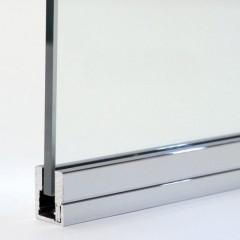 U+ parcloses pour verre de 10 mm
